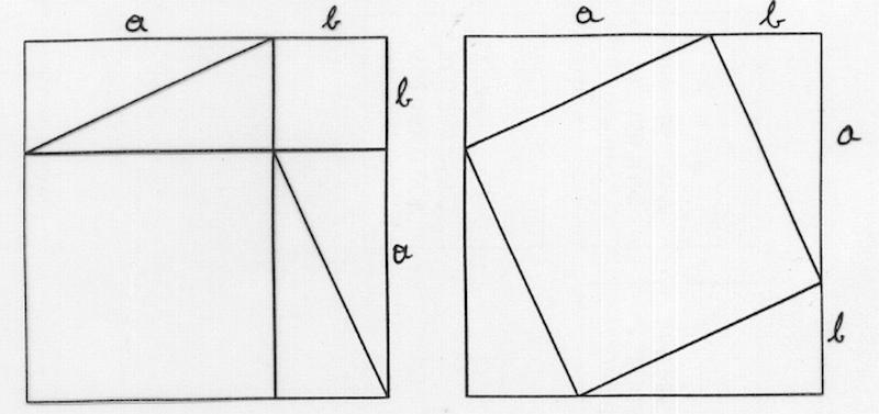 beweis vom satz des pythagoras